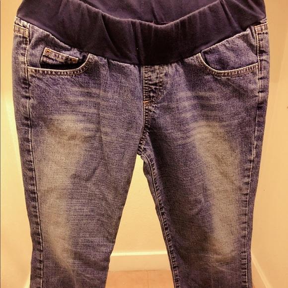 Motherhood Maternity Denim - Ankle maternity jeans